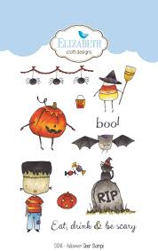 halloween scene clipart elizabeth craft designs designer challenge september
