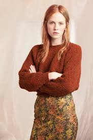 thick organic wool sweater manufactured by hand the sweater has