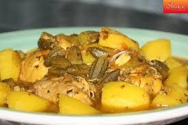 cuisiner des gombos recette tajine de poulet aux gombos et pommes de terre recettes