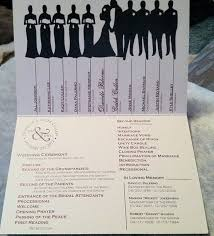 how to do a wedding program wedding programs ideas we how to do it