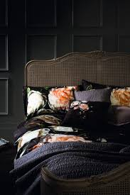 Inspirationinteriors by Flowers On Black Bed Little Miss Homes Interiors Inspiration