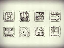 app icon sketches u2013 free icons
