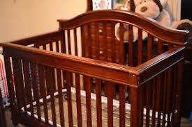 Palisades Convertible Crib Lajobi Europa Baby Palisades Convertible Crib Rustic Cherry