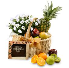 fruit baskets for s day the s day fruit flower basket mothersday gift a gift