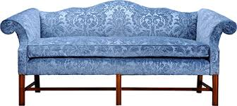 Chippendale Sofa Slipcover by Brookline Furniture Company Camelback Sofa Two Seater Three