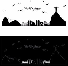 cityscape stickers promotion shop for promotional cityscape 2017 new fashion rio de janeiro cityscape wall decals fluorescence glow in the dark wall stickers living room bedroom wallpaper