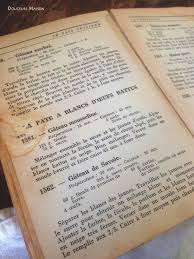 vieux livre de cuisine recette gateau de savoie fecule de pomme de terre secrets