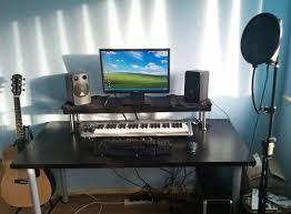 Studio Desk Diy Cheap Diy Ikea Home Studio Desk Apartment Therapy