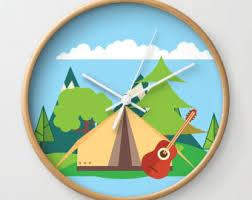 kingdom hearts vinyl wall clock kids room art nursery decor