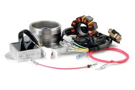 trail tech 90 watt high output dc electrical system for honda