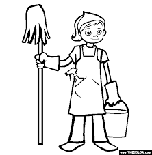 cartoon pictures of cleaning spring cleaning anyone