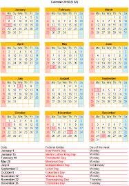 free 2018 excel calendar with us holidays free printable pdf
