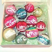 antique ornaments shiny bright glass indent grape