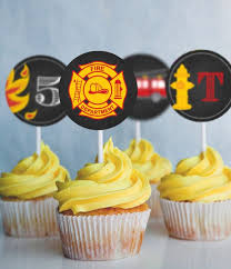 firefighter cupcake toppers 30 appetizing firefighter cupcakes cupcakes gallery
