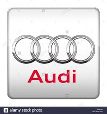 audi logo vector audi logo icon stock photo royalty free image 77066700 alamy