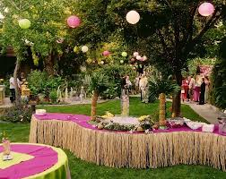 outdoor garden wedding ceremony decorations ideas 12 trendy