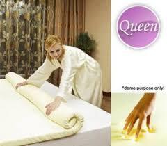 memory foam massage table topper new luxury latex memory foam mattress queen size f008 beds