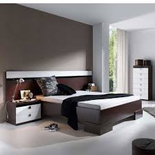 chambre wengé meubles chambre à coucher design lilou atylia matière mélamine