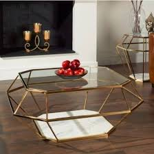 frame large coffee table modern glass coffee table large metal marble frame luxury living
