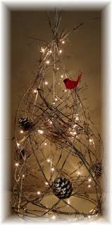 lighted trees home decor grapevine trees lighted grapevine tree rustic by homehearthgarden