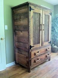 Old Wooden Furniture Wardrobe I Made From Old Barn Wood Wood Pinterest Barn Wood