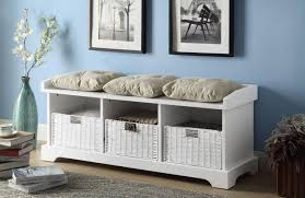 storage bench with cushion indoor building a storage bench with