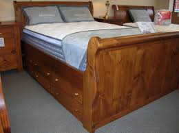 Pine Sleigh Bed Frame Pine Sleigh Bed Sawn Ninth River Size Sleigh Bed