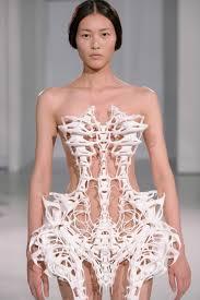 Skeleton Dress Iris Van Herpen The Skeleton Dress Fashnerd
