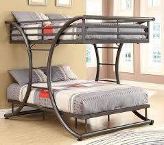 Bunk Beds Cheap Bunk Bed With Futon Futon Bunk Bed Plans Whalen Furniture