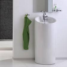 designer waschbecken gã nstig halbsäulen design waschbecken waschtisch keramik standwaschbecken