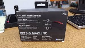 ihip sound machine portable bluetooth speaker built in mic