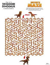good dinosaur activity pages u0026