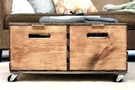 storage ottoman on wheels mesmerizing ottoman on wheels ottoman crate turned ottoman with