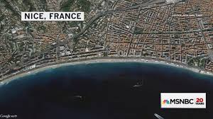 Nice France Map by Terror By Truck How The Attack In Nice Unfolded Nbc News