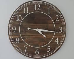 large wall clock large wall clock etsy