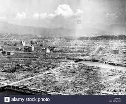 hiroshima atomic bomb aftermath destruction of hiroshima japan