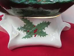 byron mold ceramic christmas tree base 20 tall 100 lights and