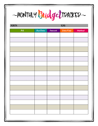 monthly budget planner template caribbean crazy color printable monthly budget planner bill caribbean crazy color printable monthly budget planner bill payment planner big classic happy planner instant download