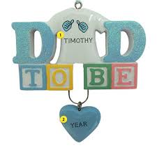personalized expecting new family ornaments callisters