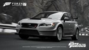 subaru cars white ten incredible cars coming to forza motorsport 7 for deluxe and
