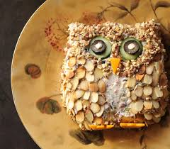 Owl Lovers by Where Your Treasure Is Owl Cheese Ball