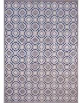 Blue Grey Area Rug Amazing Deal On Universal Rugs Contemporary Geometric 7 Ft 10 In