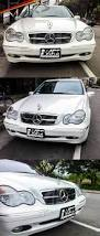 chrome benz chrome black w203 sls amg style grille grill for mercedes benz