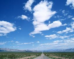 blue and white wallpaper 9640 green sky landscape scenery