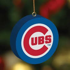 chicago cubs 3d ornaments holidays