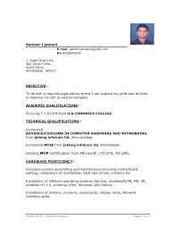 Resume Format Pdf Download Free Indian by Normal Resume Format It Resume Cover Letter Sample