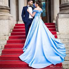 blue wedding dresses sky blue afghan garden wedding dress 2017 new the