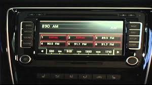 2015 volkswagen passat radio instructions youtube
