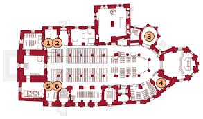 Medieval Cathedral Floor Plan Turku Cathedral Graves Tour