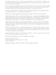 lexus canada bc toyota defect wiring lexus toyota